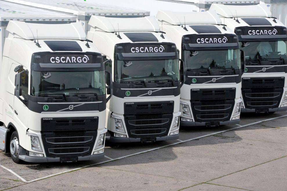 Kamiony Volvo z flotily C.S. Cargo. Autor: C.S. Cargo