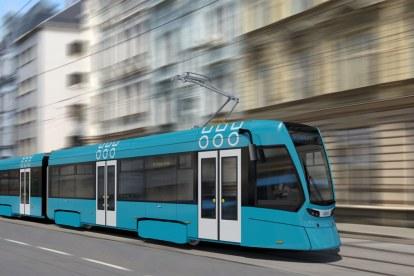 Vizualizace nové tramvaje pro Ostravu. Foto: Stadler