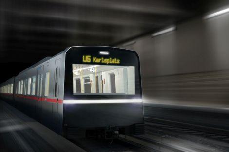 Nové soupravy metra X Car budou už třetím typem vlaků, které pro vídeňské metro dodá Siemens. Foto: Siemens