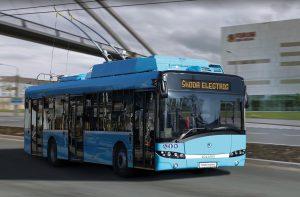 Trolejbus 26Tr pro Ostravu. Autor: Škoda Electric