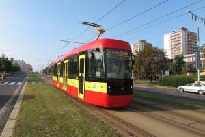 Tramvaj EVO 1 v barvách Dopravního podniku měst Mostu a Litvínova. Foto: DPmML - Petr Novák