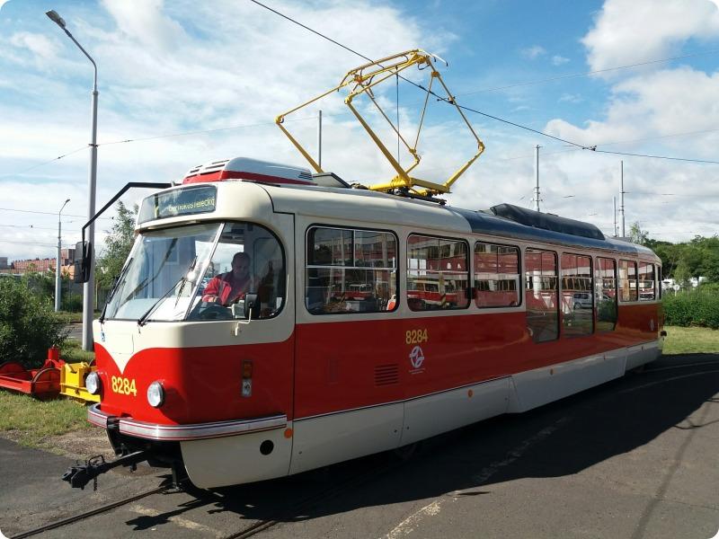 Tramvaj T3R.PLF. Foto: DPP