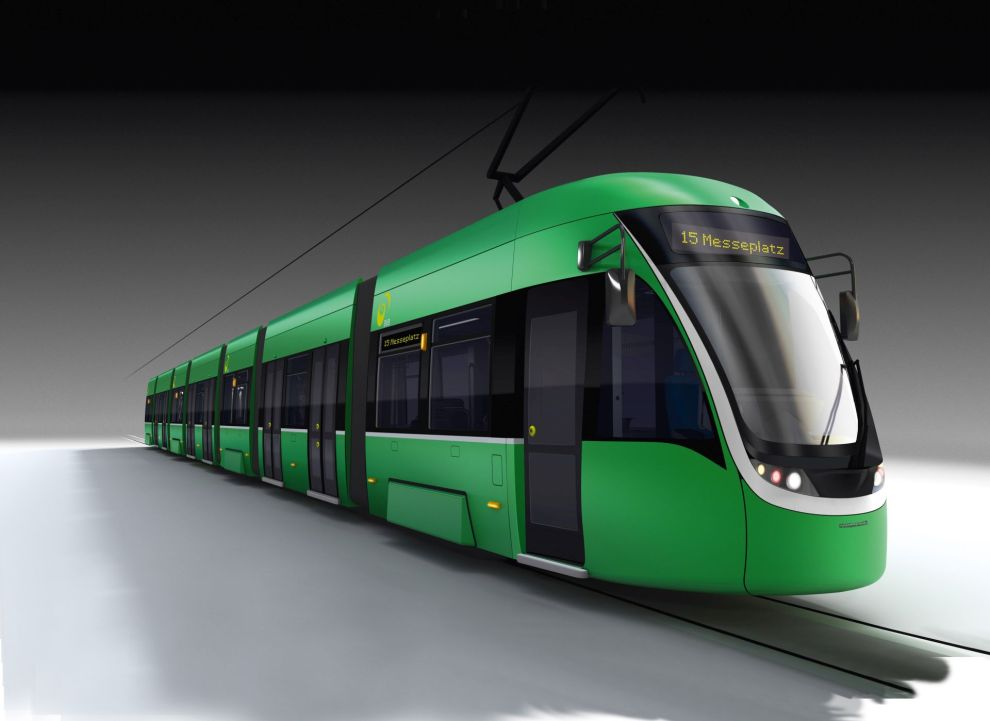 Vizualizace tramvaje Flexity 2 pro Basilej. Foto: Bombardier