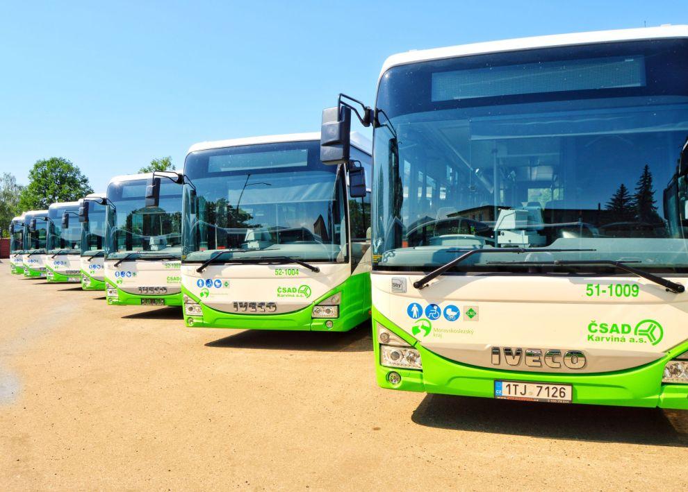 Autobusy Crossway LE NP pro ČSAD Karviná. Autor: Iveco
