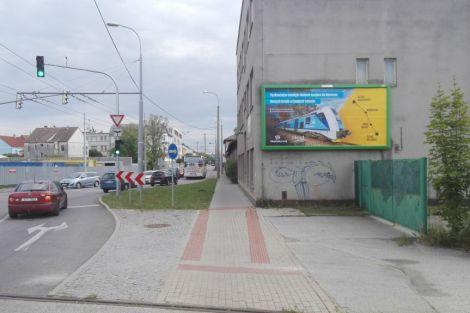 Billboard s reklamou na jihočeskou železnici. Autor: Martin Stach