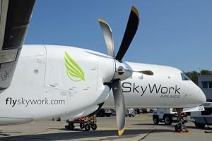 Saab 2000 v barvách SkyWork Airlines. Foto: SkyWork Airlines