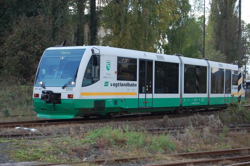 RegioSprinter společnosti Die Länderbahn. Čtyři tyto motorové vozy kupuje AŽD Praha pro Švestkovou dráhu. Foto: Pavel Homan, Wikimedia Commons
