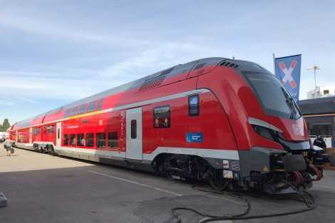 Innotrans 2018, souprava NIM Express pro DB, zdroj: Zdopravy.cz/Josef Petrák