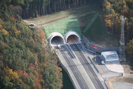 Tunel Valík po dokončení. Foto: Pragoprojekt