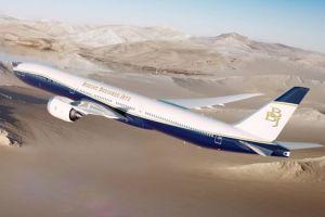 Vizualizace podoby nového BBJ 777X. Foto: Boeing