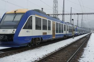 Motorové vozy Alstom Lint. Foto: Leo Express