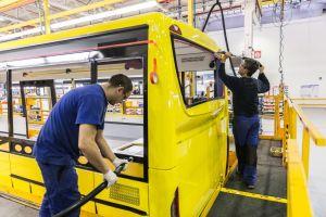 Výroba autobusů ve vysokomýtském závodě Iveco Czech Republic. Foto: Iveco