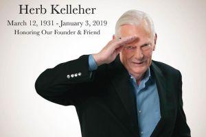 Herb Kelleher. Foto: Southwest Airlines