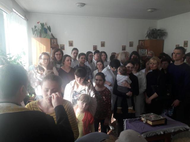 Таїнство Єлеопомазання  в Івано-Франківській Обласній дитячій лікарні- о. Руслан Пяста