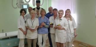 Капелан освятив нові медичні обладнання в госпіталі прикордонної служби
