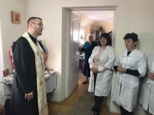 Практика у медичних закладах семінаристів Львівської Духовної Семінарії