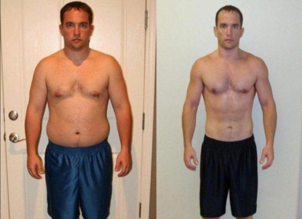 Проблема лишнего веса у мужчин: как за месяц похудеть на 10 кг