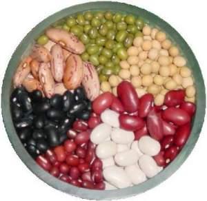 Kalorie v potravinách - kalorická tabulka luštěniny