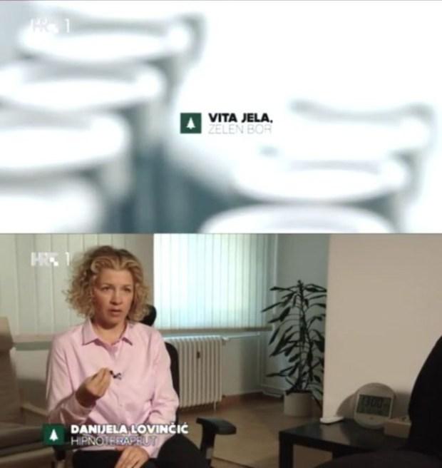 HRT1, 07.10.2015, Vita jela, Zelen bor, Danijela Lovinčić, Zdrava glava d.o.o.