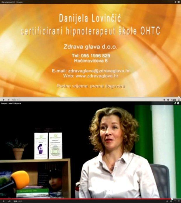 Danijela Lovičić, Zdrava glava d.o.o. na Alter TV
