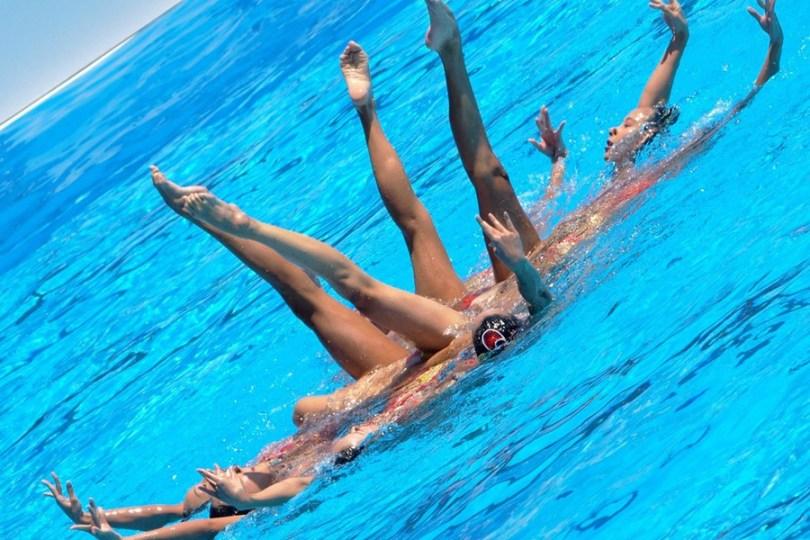sinhrono plivanje