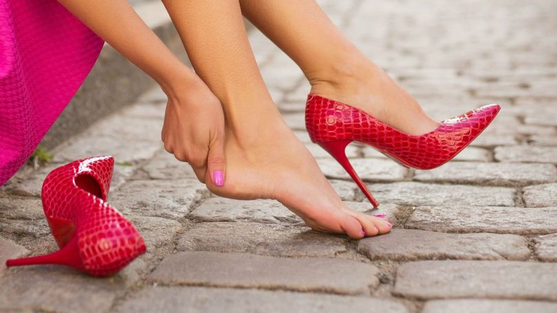 promjene na stopalima