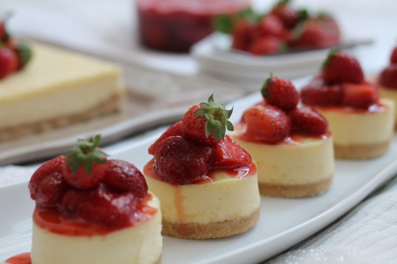 kako napraviti mini cheesecake