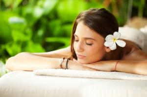 Beautiful-Woman-Outdoor-on-Spa-Massage