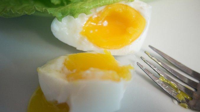 варено яйце