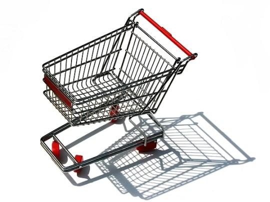 количка за пазаруване