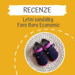 Recenze – sandále Fare Bare Economic
