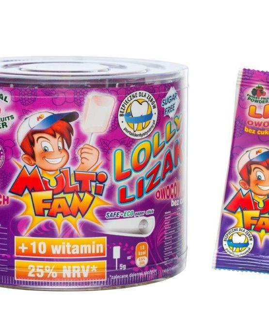 vitamínové lízatka Multifan lesné ovocie