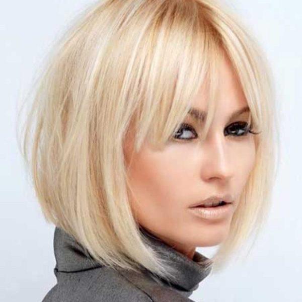 Стрижки средней длины волос 2018: модные тенденции и цвета ...