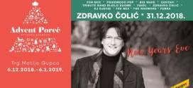 Zdravko Čolić za doček Nove godine u Poreču