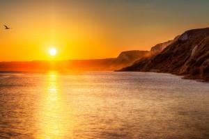 Sunset at Dylboka