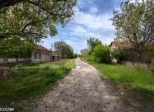 Типичните прави улици на чешкото село
