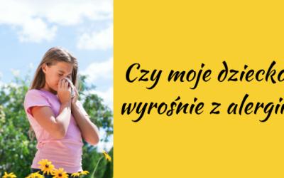 Czy moje dziecko wyrośnie z alergii?