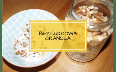 Bezcukrowa granola
