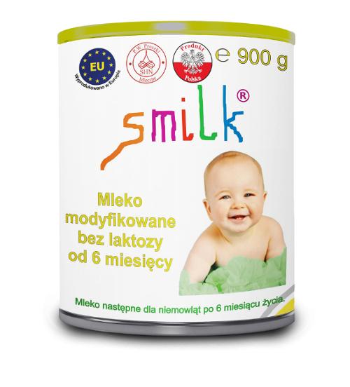Mleko bez laktozy dla niemowląt SMILK opinie