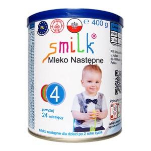 mleko następne dla dzieci SMILK 4 - 400g
