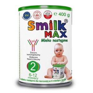 mleko następne dla niemowląt SMILK MAX 2 400g
