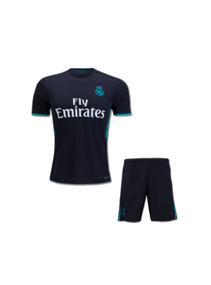 Kids-Real-Madrid-Football-Jersey-and-Shorts-Away-17-18-Season