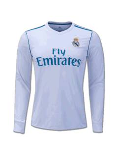 Real-Madrid-LS-Home-Jersey-17-8-Season