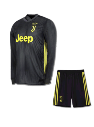 Juventus-Full-Sleeves-Football-Jersey-And-Shorts-3rd-Kit-18-19-Season