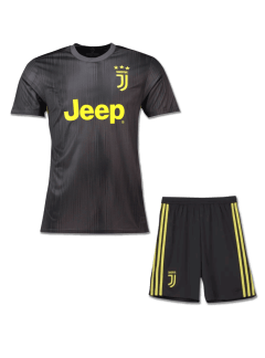 JuventusFootball-Jersey-And-Shorts-3rd-Kit-18-19-Season