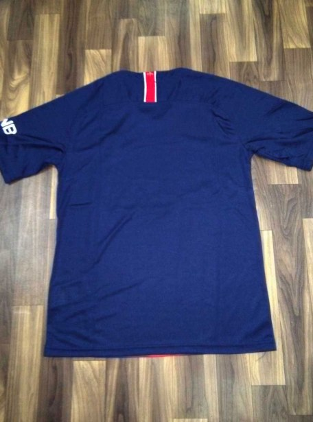 PSG-Football-Jersey-And-Shorts-Home-18-19-Season-Back