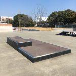 舞浜スケートパークのマニュアル台