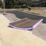 舞浜スケートパークマニュアル台