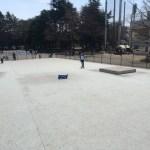駒沢公園スケートパークの路面はコンクリでとてもスムーズ
