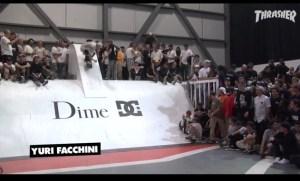 Dime Glory Challenge Yuri Facchini Photo from Thrasher YouTube